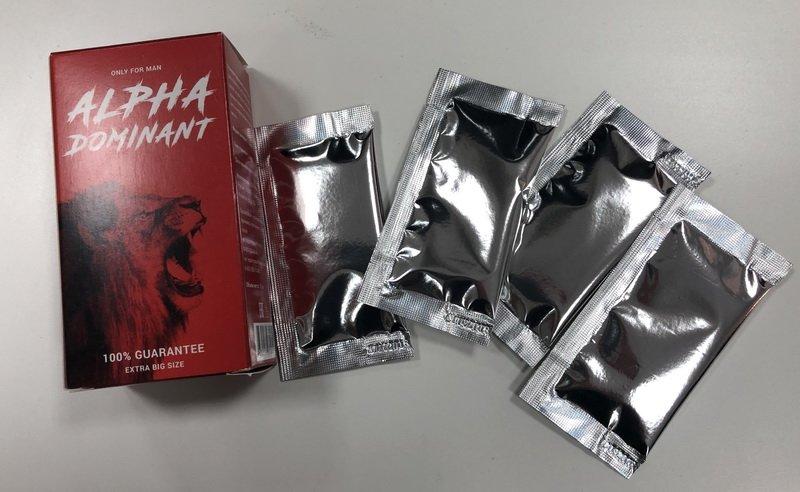 Оригинал упаковки Alfa Dominant